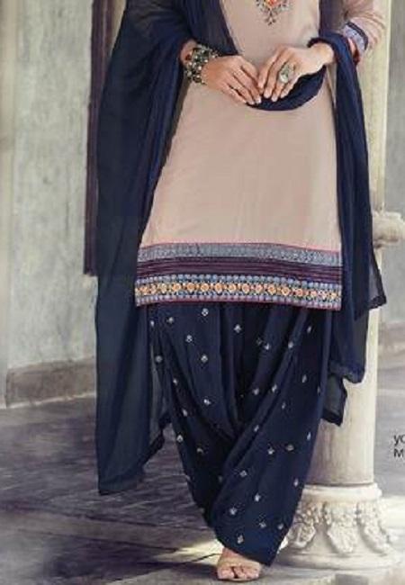Beige Color Designer Salwar Patiala Set (She Salwar 508)