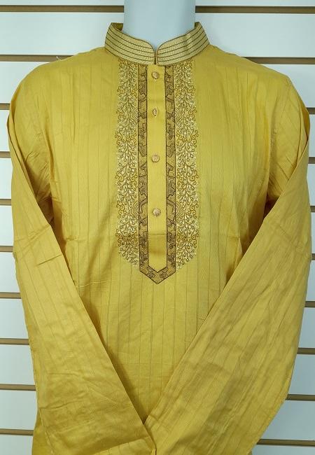 Beige Color Cotton Punjabi (She Cotton Punjabi 549)