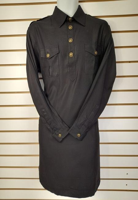 Black Color Pathani Kurta Set (She Boutique Punjabi 527)