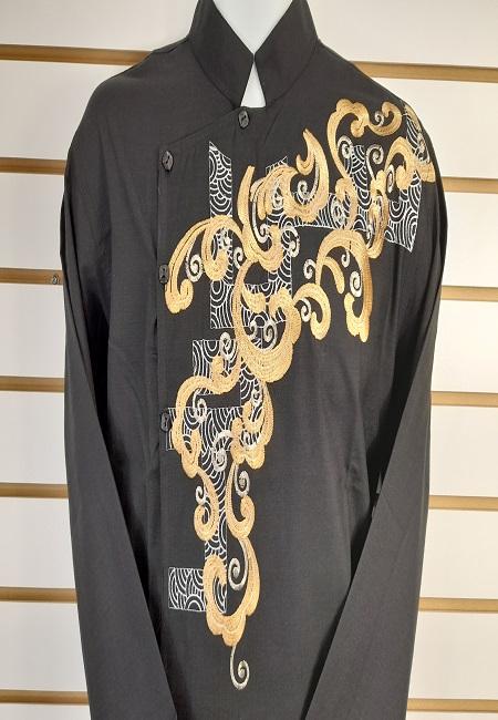 Black Color Cotton Embroidery Punjabi (She Boutique Punjabi 531)