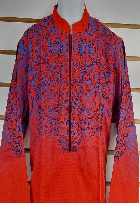 Red Color Cotton Embroidery Punjabi (She Boutique Punjabi 532)