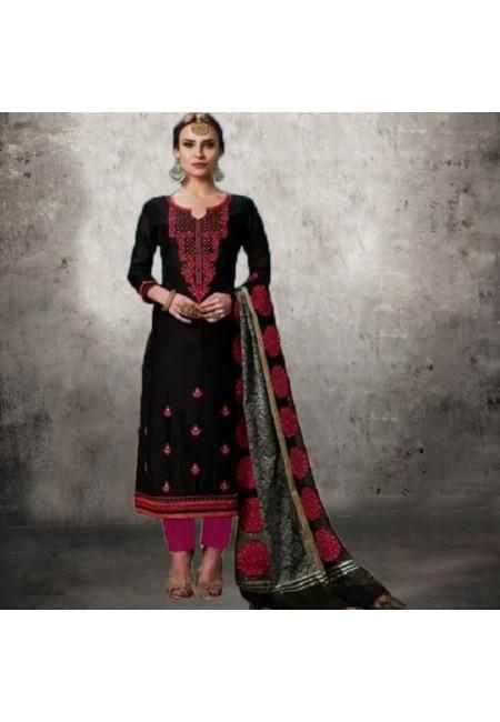 Black Color Designer Salwar Suit (She Salwar 558)