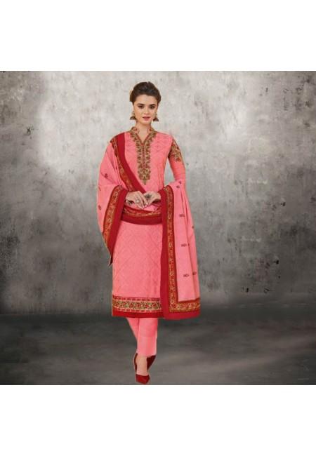 Pink Color Designer Salwar Suit Set (She Salwar 575)