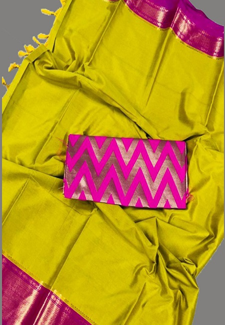 Mustard Yellow Color South Silk Saree (She Saree 652)