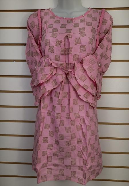 Lavender Color Western Style Designer Top  (She Top 514)
